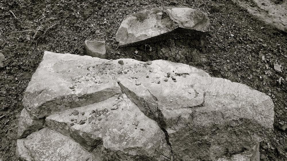 Apuntes del natural 1 piedra rota