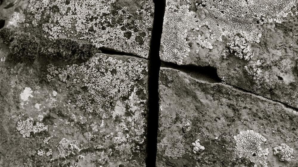 Vía crucis roca
