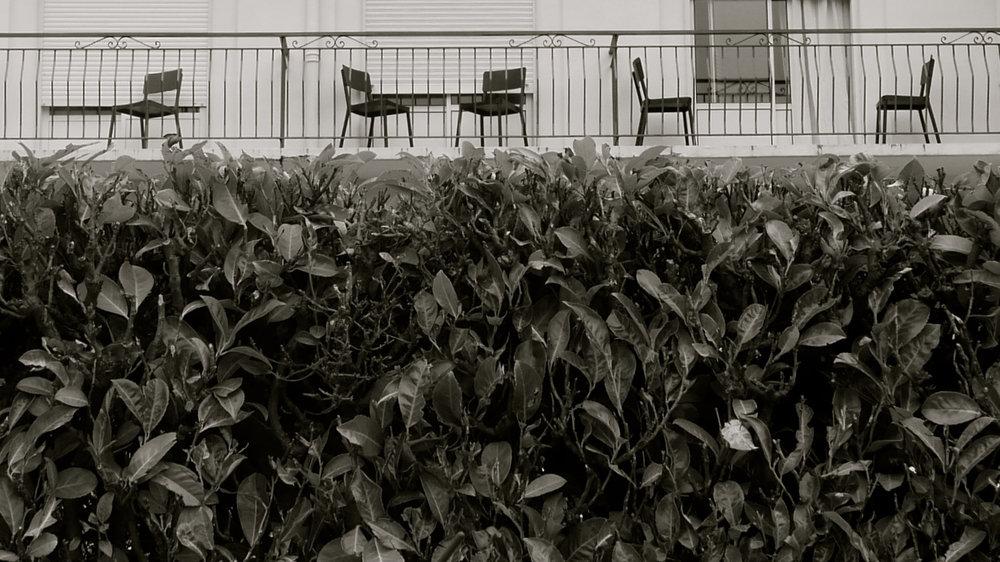 Balcones sillas