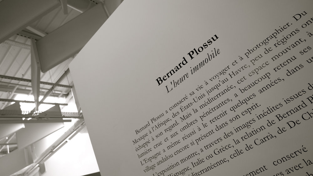 Bernard Plossu L'Heure inmobile - 01