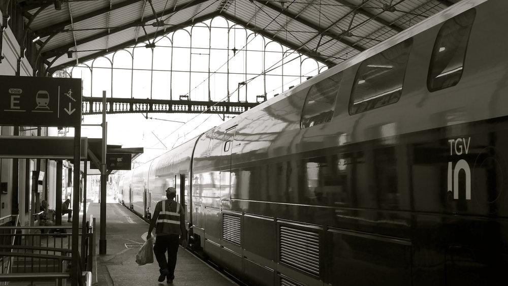 Tren Correo cartero Tarbes