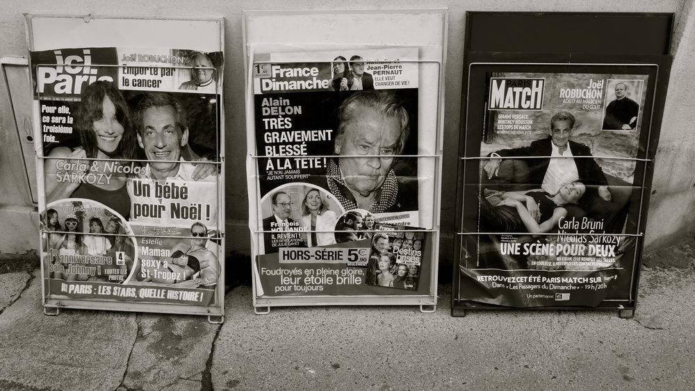France Dimanche, Ici Paris...