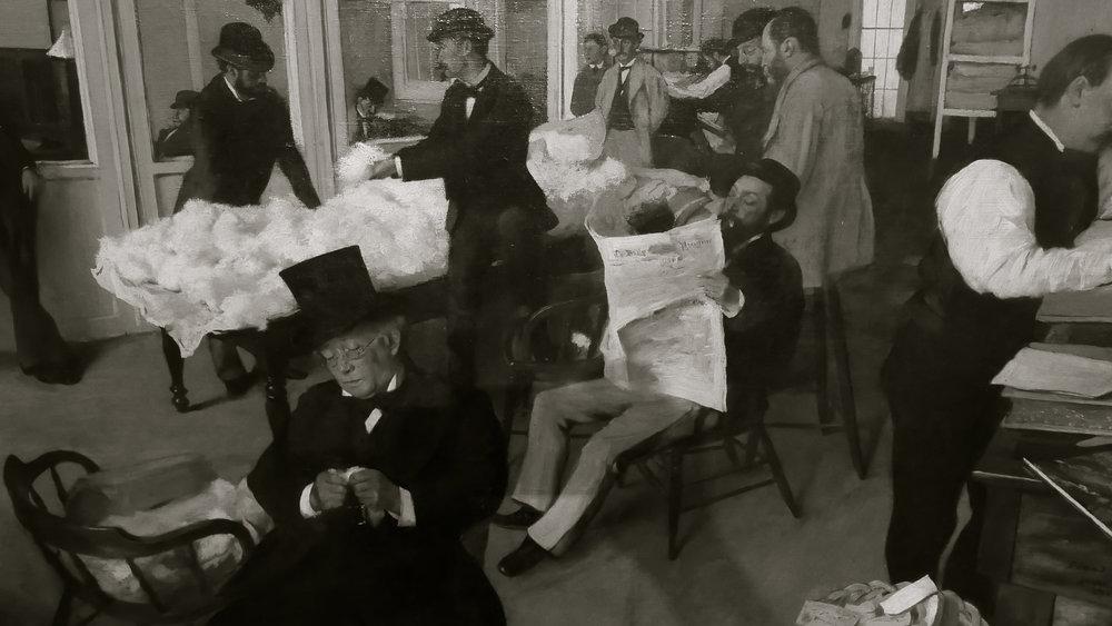 Degas Bureau coton Nouvelle-Orléans - 1