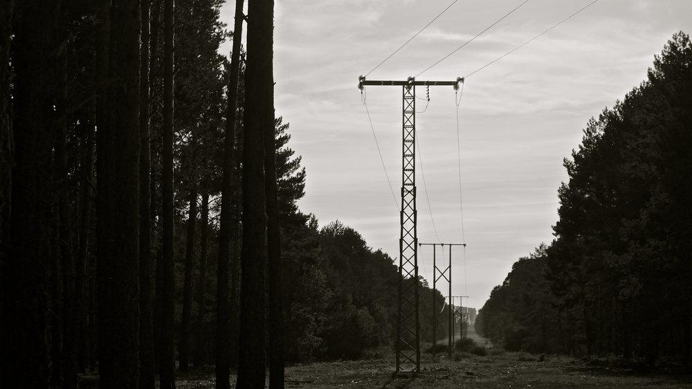Línea eléctrica Amogable