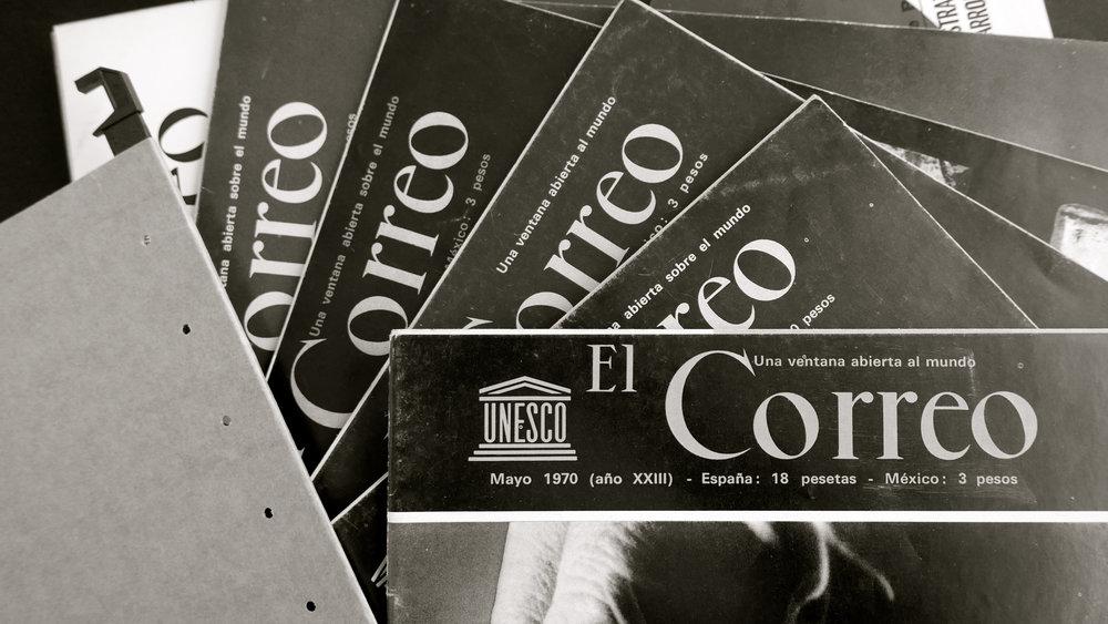Viejos Correos de la Unesco - 1