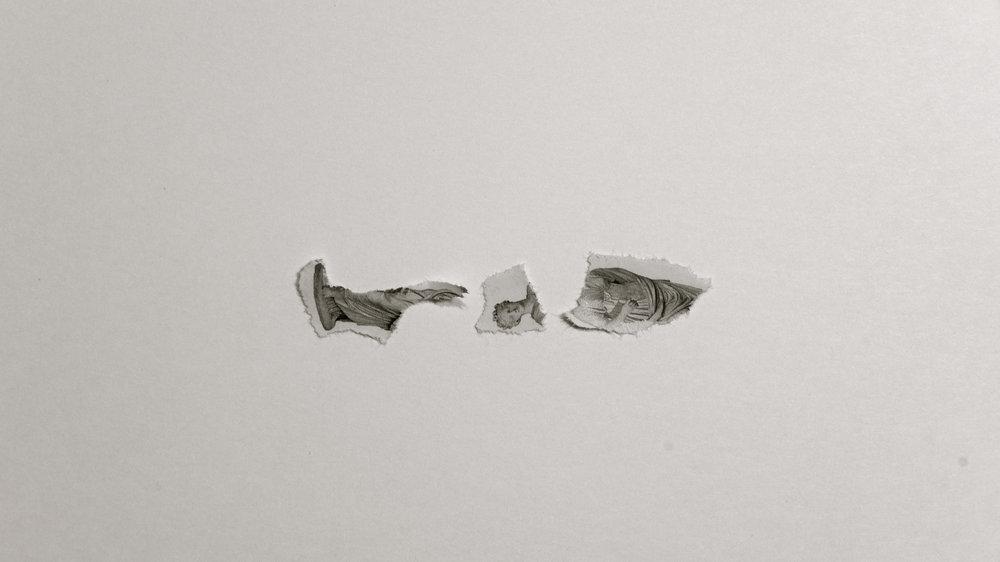Escultura destrozada