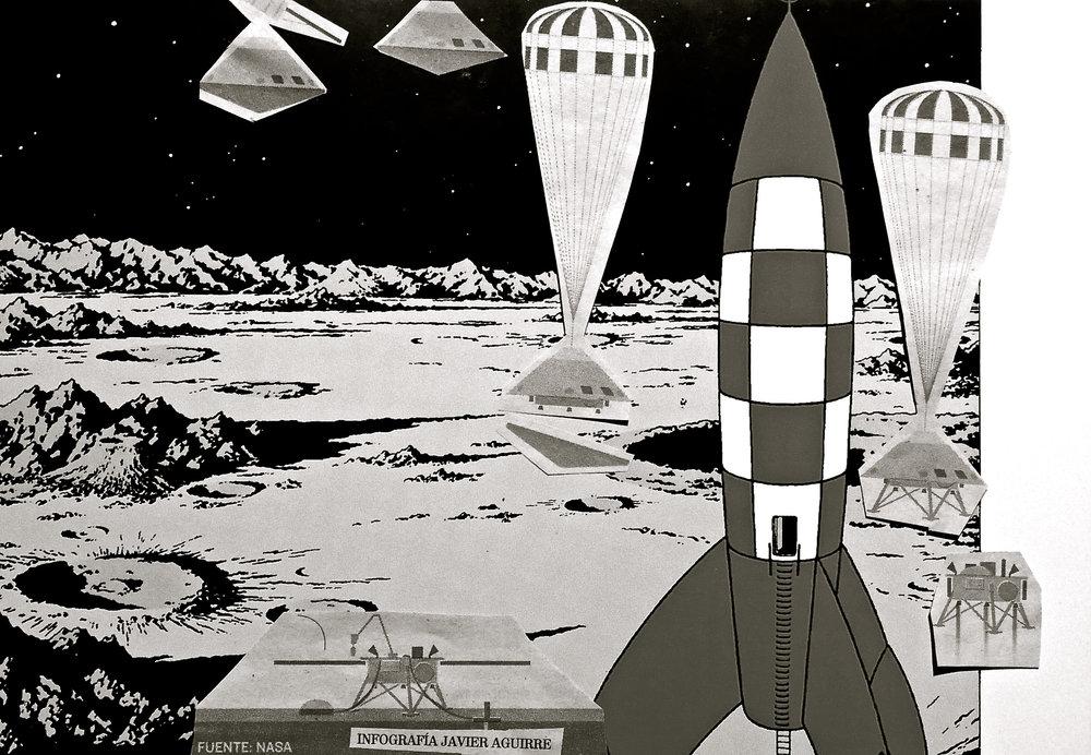 Hoy, Marte. Ayer, la Luna.