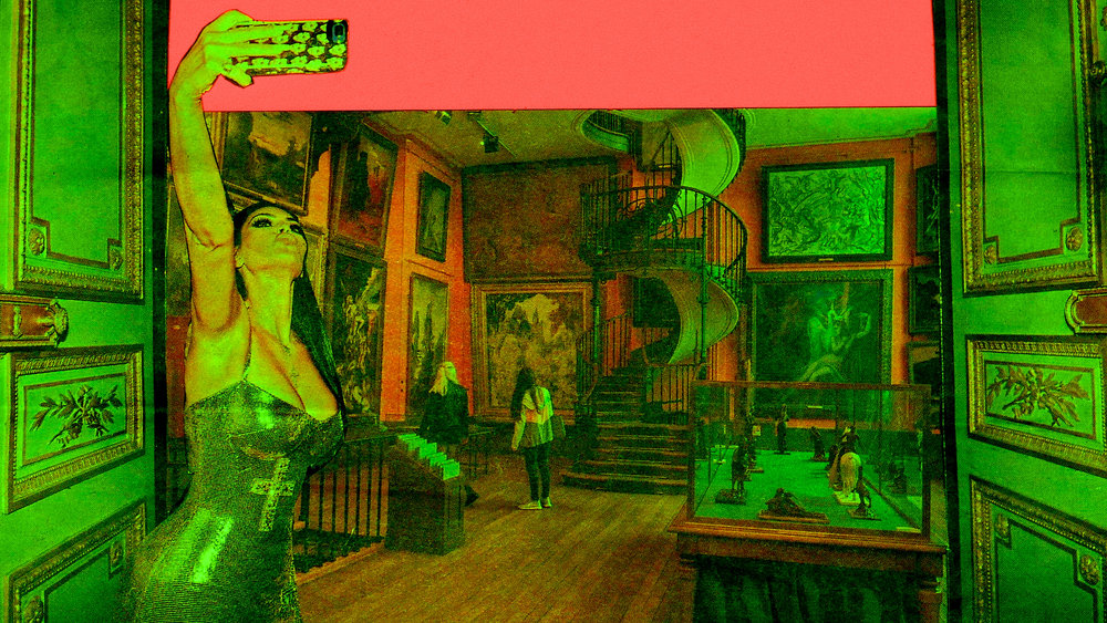 K en el museo Gustave Moreau - 2