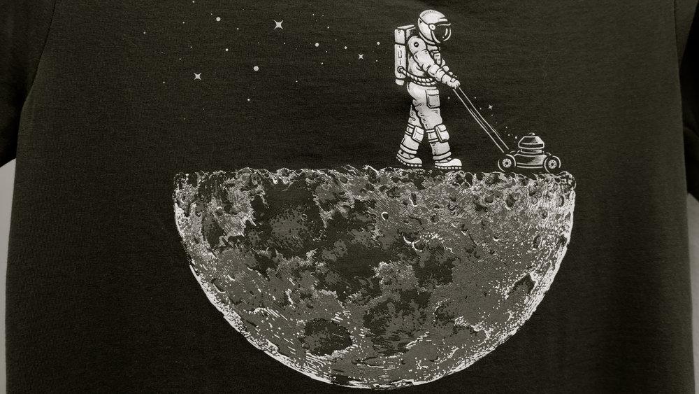 Astronauta cortacesped - 2