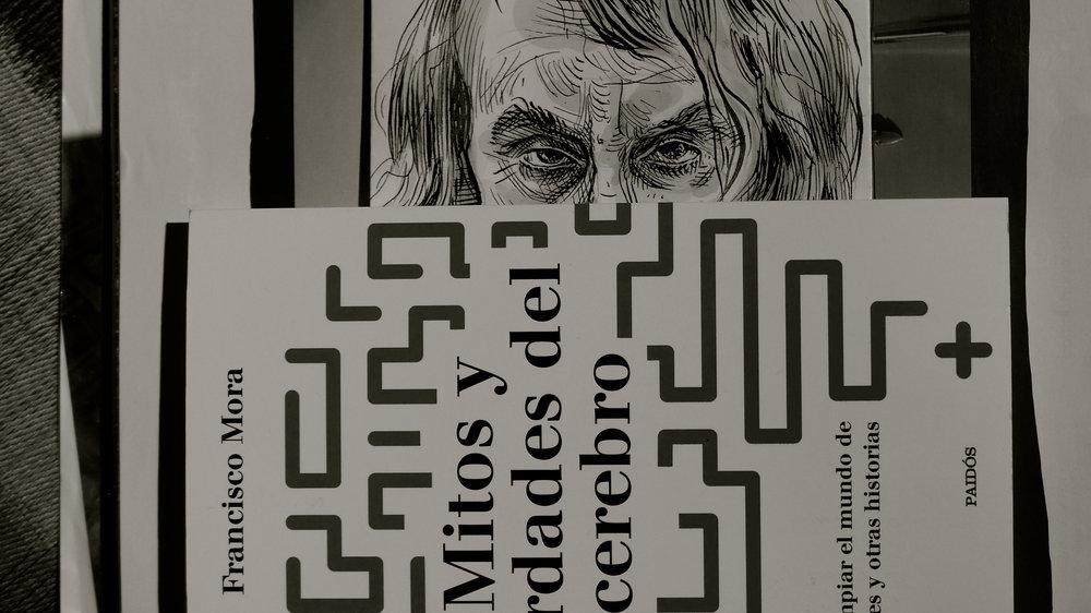 Caricatura Houellebecq / Mitos de Mora