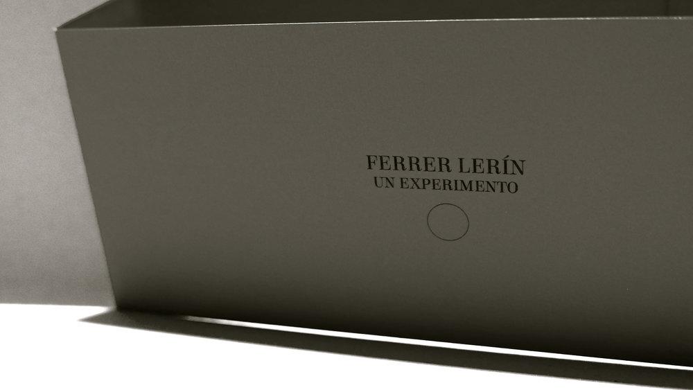 """Ferrer Lerín. """"Un experimento"""" - 32"""