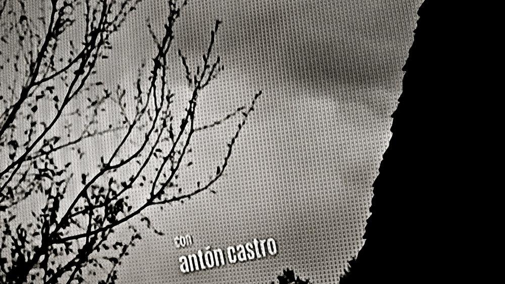 Con Antón Castro