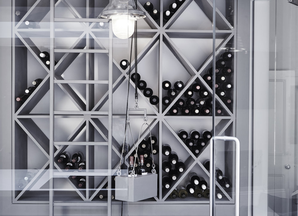 Structural Wine Rack