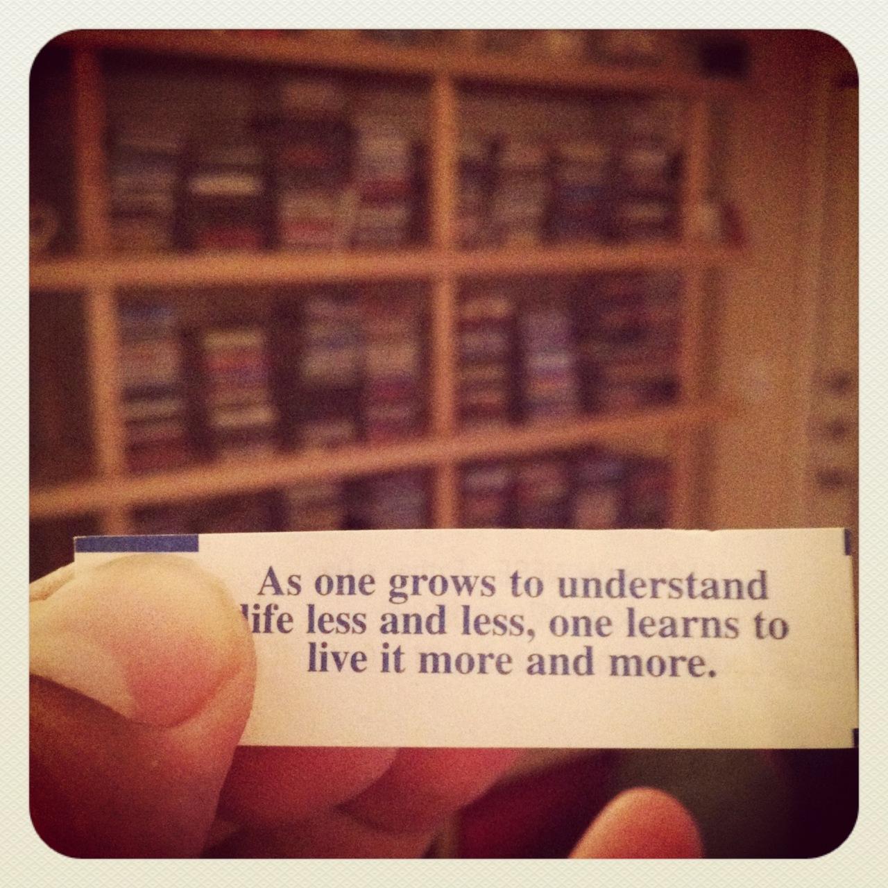 Random fortune….