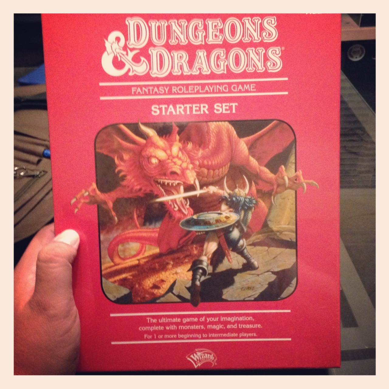 So I haven't figured when I'm going to squeeze in enough time to read all the manuals contained within my D&D Red Box, but it's something I'm looking forward to doing this weekend. If all goes as planned, I'll get to throw down in my 2nd organized game on the 1st of December. I hope to know enough about the game to not slow down creative developments.