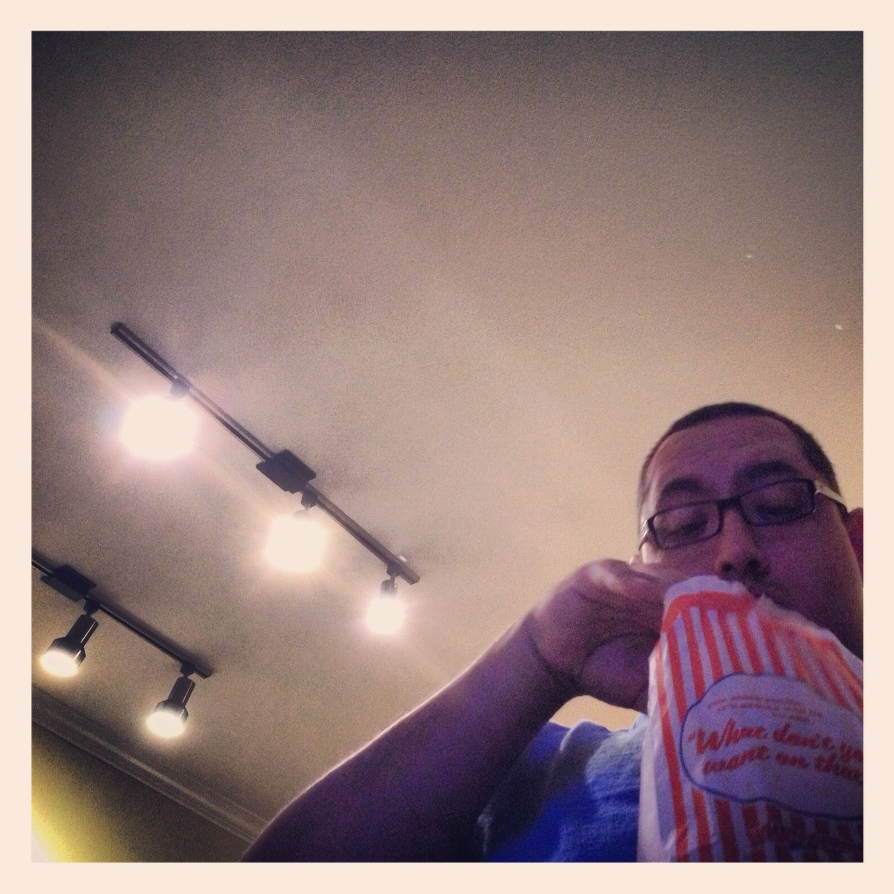 Chivo and I just got back from Whataburger and a late afternoon screening of Looper. If you haven't had a chance to see it - I highly recommend that you do so that we can talk about it.