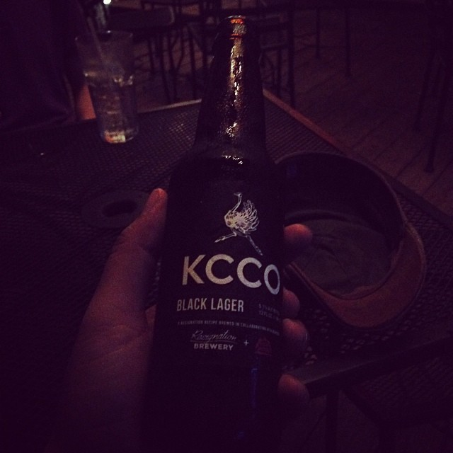 File under things I drink: KCCO Black Lagger (at 508 Tequila Bar)