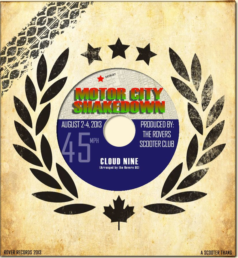 It's that time of year again.  Rovers SC presents: Motor City Shakedown - Cloud 9 - August 2-4.   You can register by visiting www.motorcityshakedown.com