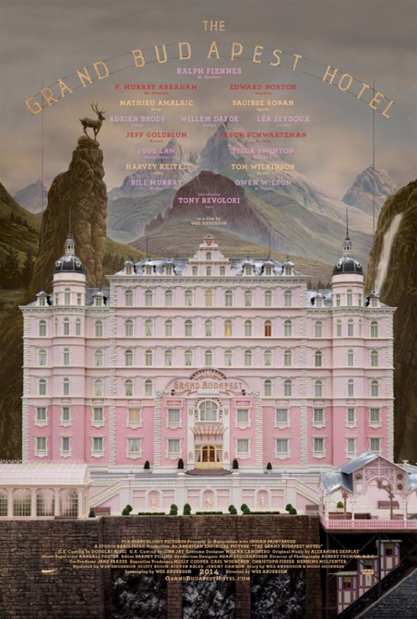 The poster for  the Grand Budapest Hotel  has leaked!   Trailer to follow later in the week…