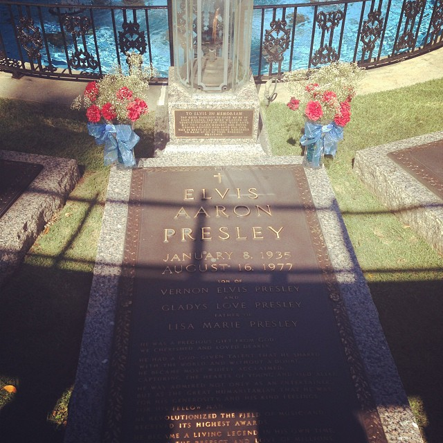 Just concluded my Graceland visit… Never thought the visit would be so effecting. #memphismemos #elvis #graceland