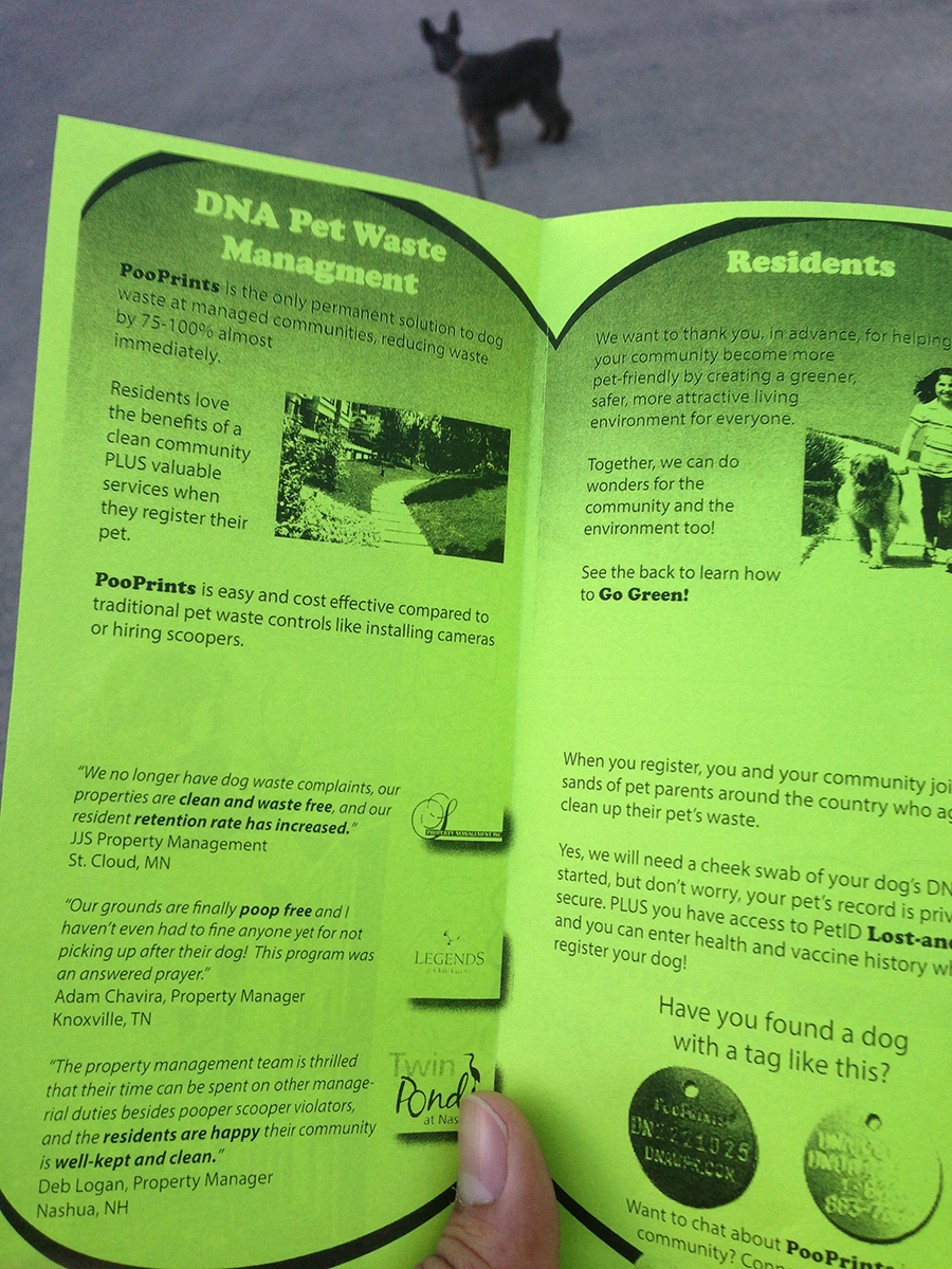 DNA Testing for Dog Droppings