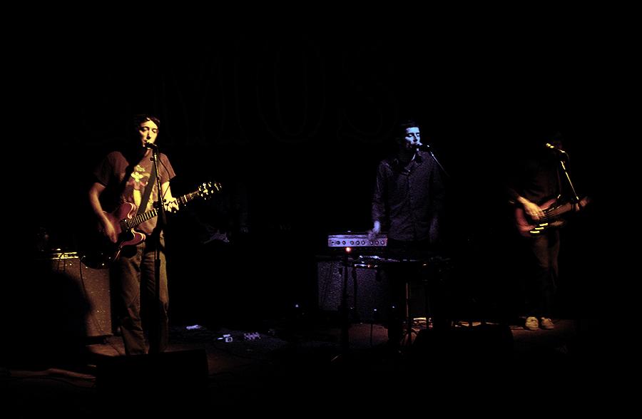 Lucksmiths  performing at EMO's - Austin, TX 10/17/2007