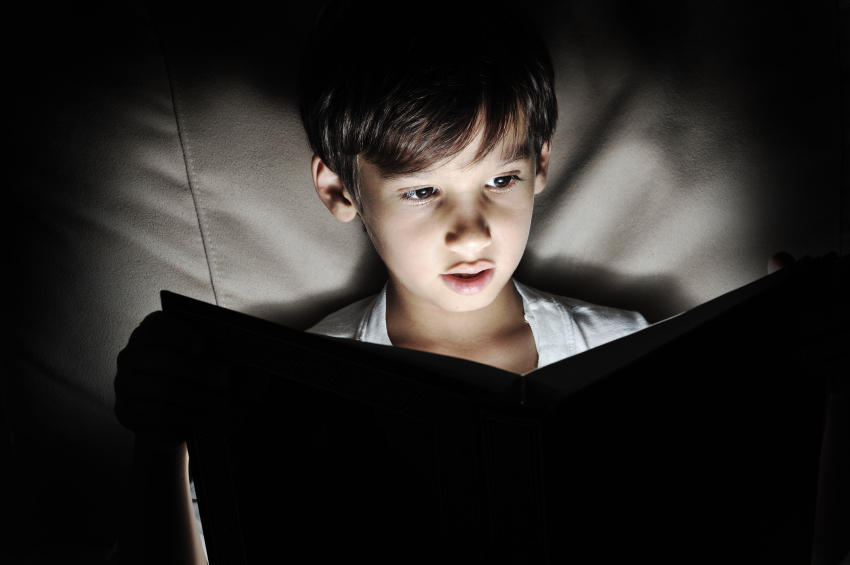 Child Reading in Dim Light.jpg