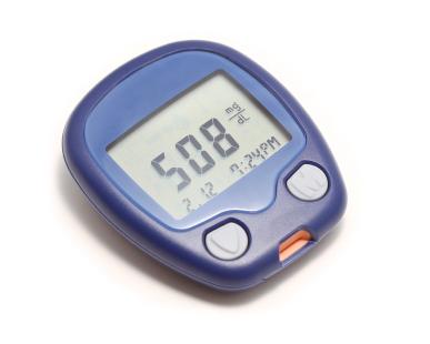 blood sugar meter - check daily