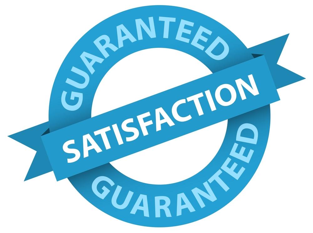 Guaranteed satisfaction seal