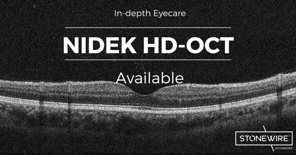 photo of oct retinal image