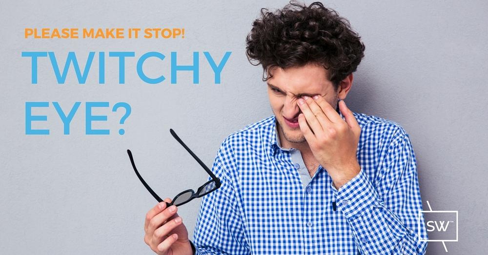 Photo: Man rubbing his left eye
