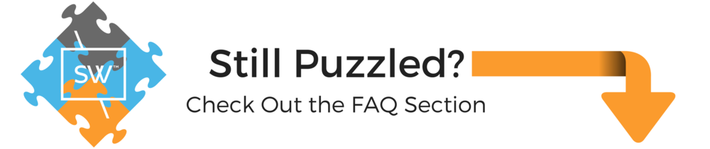 still puzzled? check out our frequently asked question section.