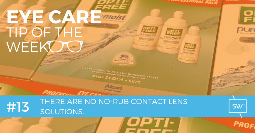 No-Rub Contact Lens Solution