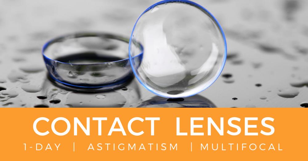 Contact lenses edmonton | 1-DAY | ASTIGMATISM | mULTIFOCAL