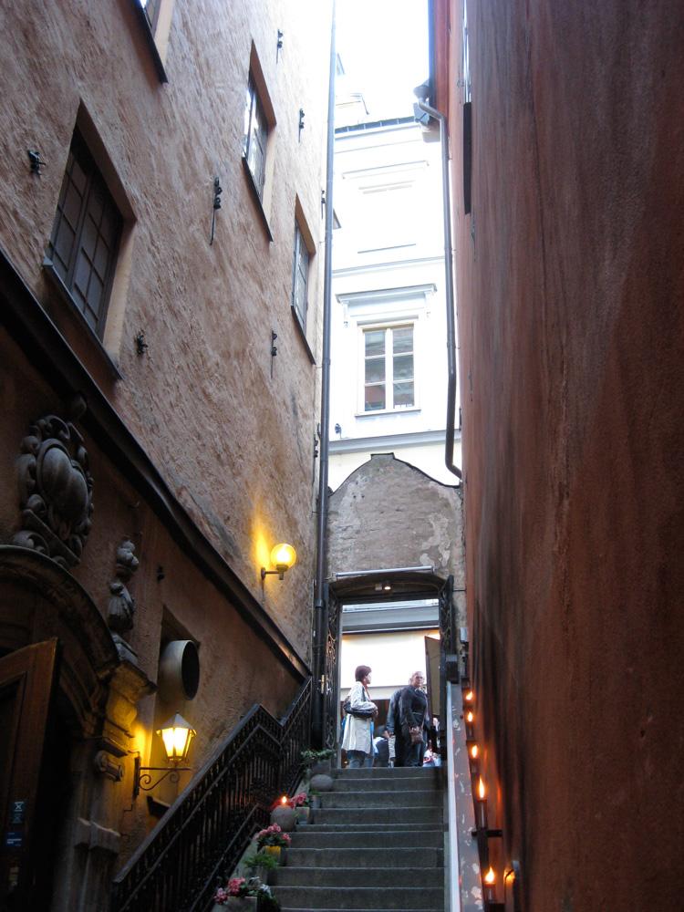 Von Der Lindeska Valvet restaurant, Gamla Stan, Stockholm.