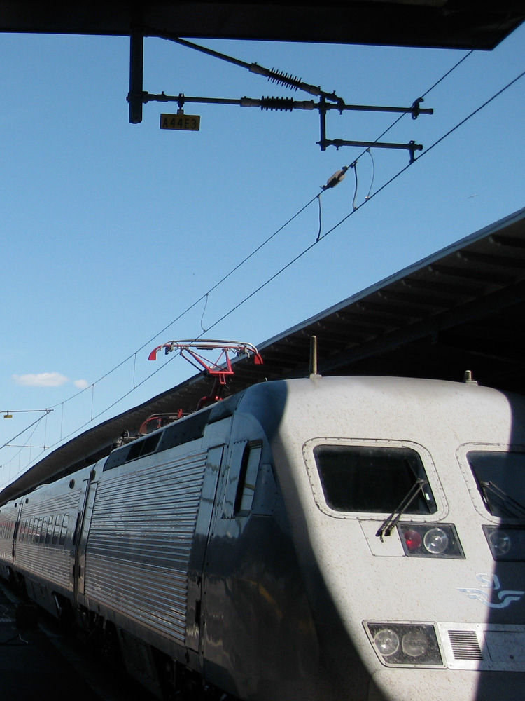 All aboard the X2000 train to Stockholm, Sweden