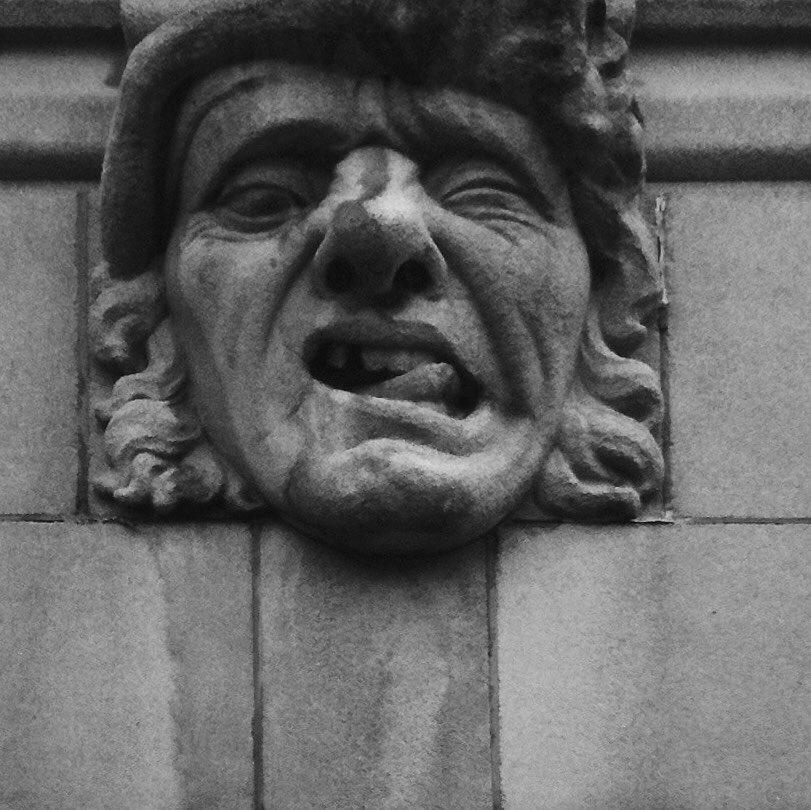 #verkstad #johnkieltyka #architecture #gargoyles