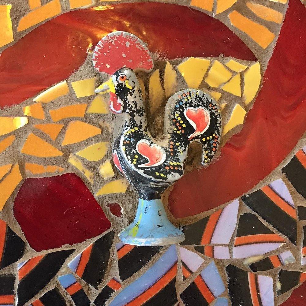 #verkstad #monikalidman #mosaics #ceramicmosaic