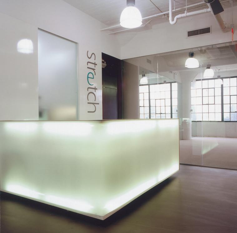 Stretch Pilates Yoga Studio Slade Architecture