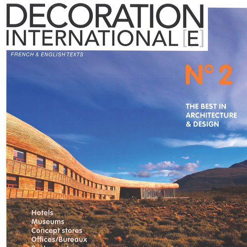 "Decoration International[e]   ""JFK Virgin Clubhouse""   November 2012, N°2   France"