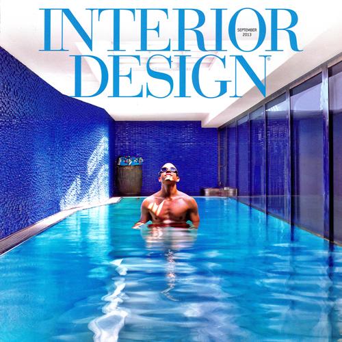 "Interior Design Magazine   ""Terminally Hip""   September 2013   USA"