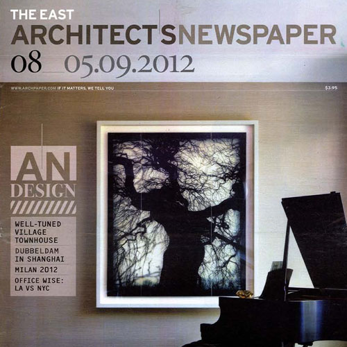 "The Architects Newspaper ""Virgin Atlantic Clubhouse"" 2012 New York, NY"
