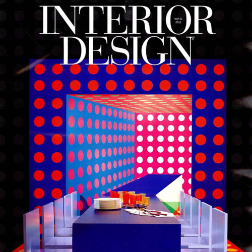 "Interior Design Magazine   ""DIFFA Dining By Design""   May 2012   New York, NY"