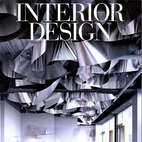 "Interior Design Best of Year 2011 ""Public Space: 184 Kent"" Sandow Media, LLC Boca Raton, Florida November 2011"