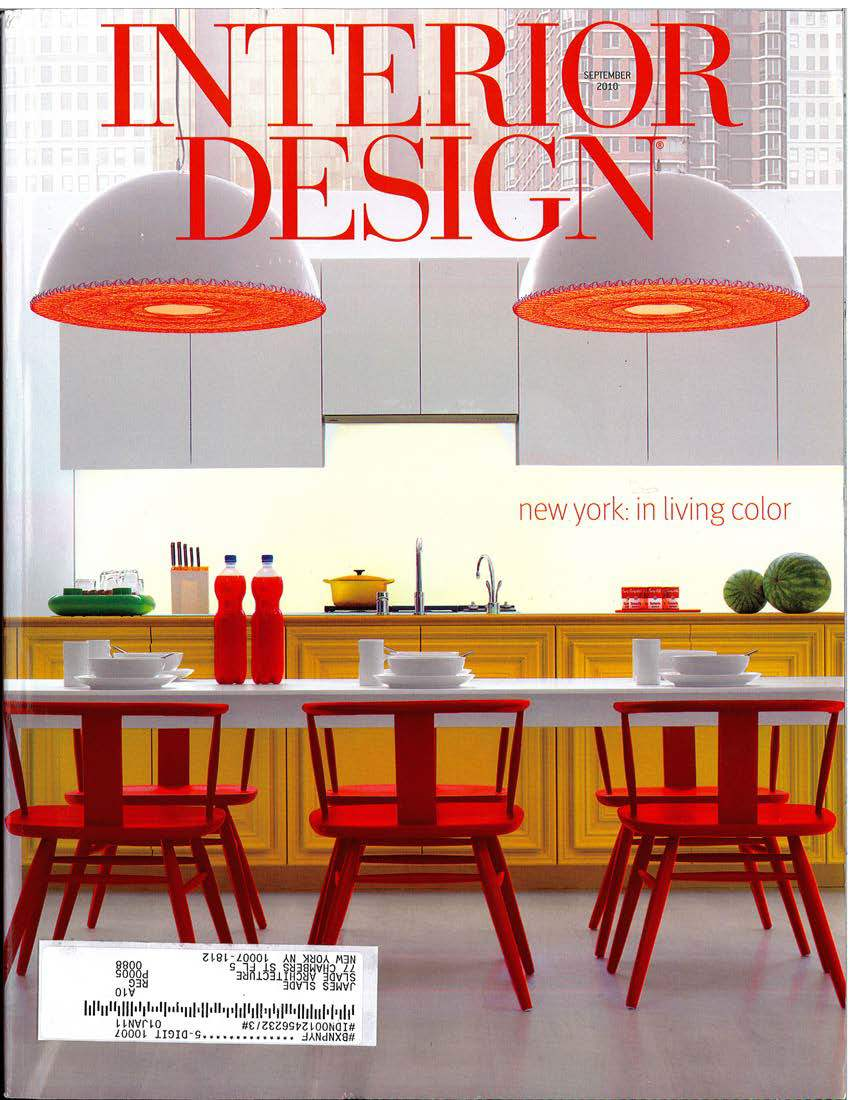 2010 interior design magazine slade architecture for Interior design magazin