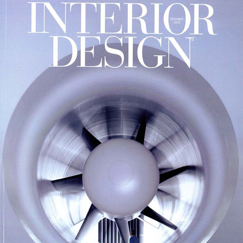"Interior Design Magazine ""Best of Year"" December 2010 New York, NY"