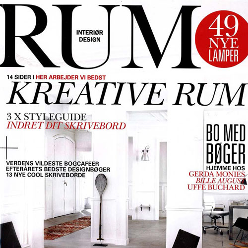 "RUM Interior Design ""Loft Living"" November 2010 Denmark"