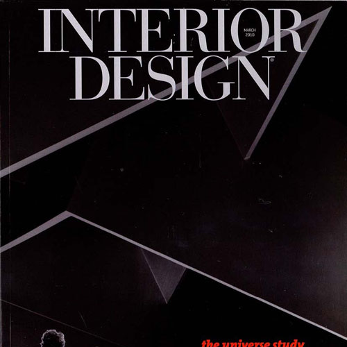 "Interior Design Magazine ""Only Imagine: Designers Offer Their Visions of a Perfect Universe"" March 2010 New York"