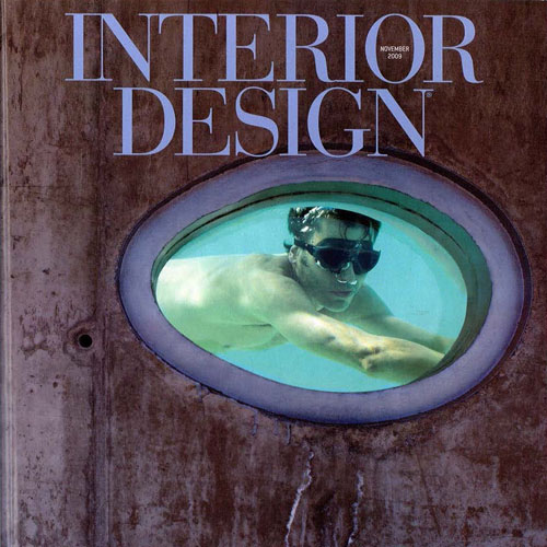 "Interior Design Magazine ""The Rules Are... There Are No Rules"" November 2009 New York"