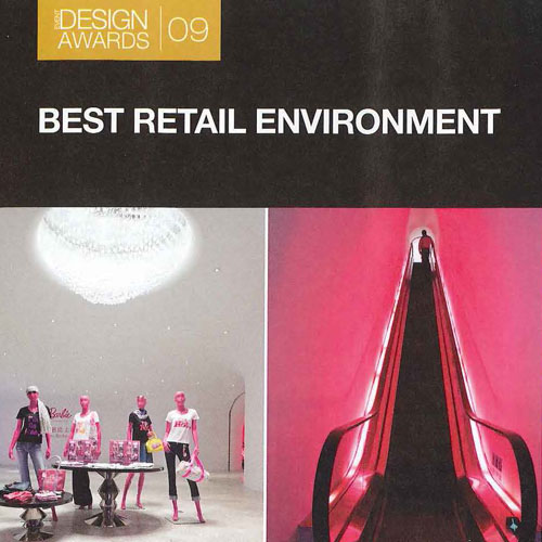 "Event Design ""Best Retail Environment"" November 2009"